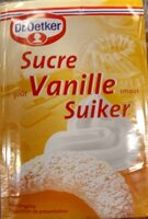 Sucre vanille - Product