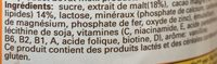 Hemo - Ingrediënten