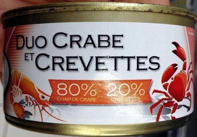 Duo crabe et crevette - Product - fr