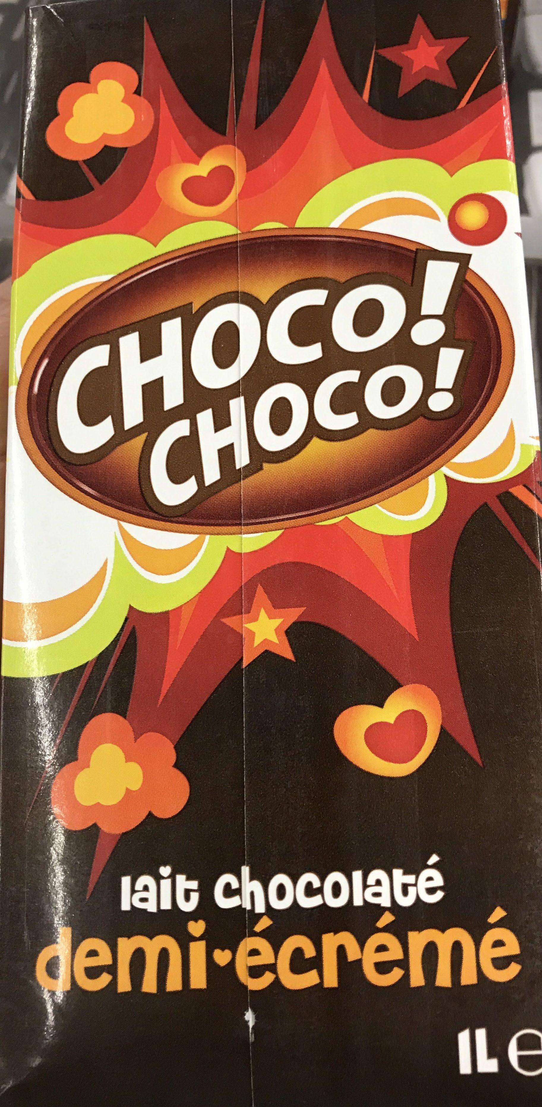 Lait Chocolaté Demi-écrémé - Produit