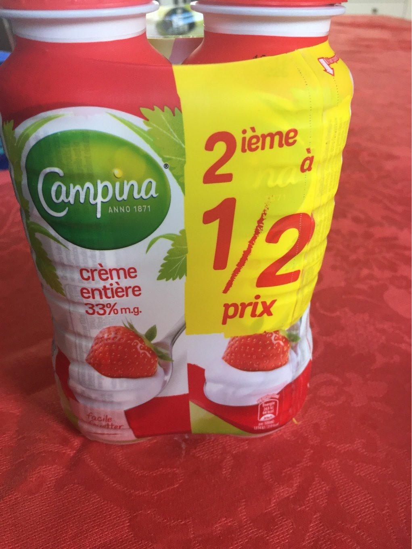Crème entière - Produit - fr