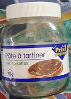 Pate a tartiner aux noisettes - Produit - fr