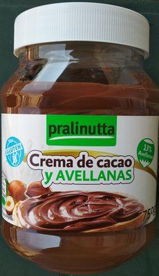 Crema de cacao y avellanas - Producte