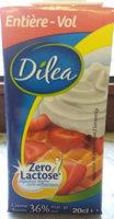 Dilea Z. lact. creme 36% - Ingrediënten - nl