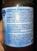 Confiture - Ingredients - fr