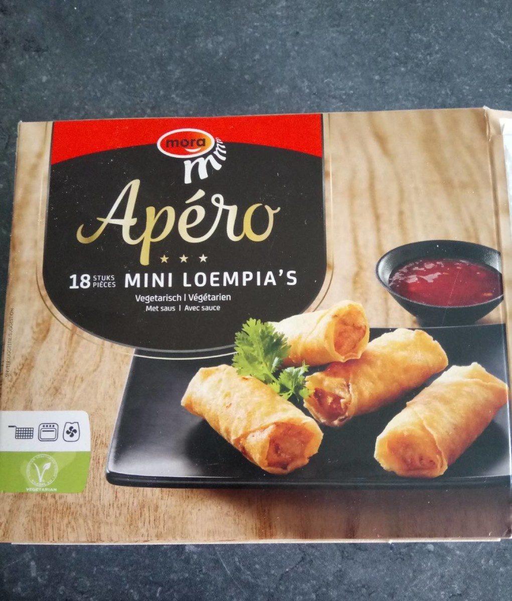 18 Mini Loempia's - Produit