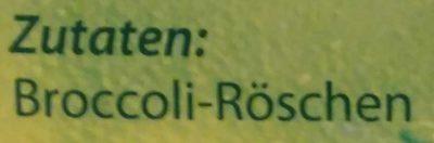 Broccoli-Röschen - Ingrédients