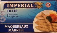 Filets de maquereau au naturel - Product