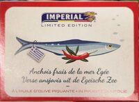 Anchois frais de la mer Egée à l'huile d'olive piquante - Produit - fr
