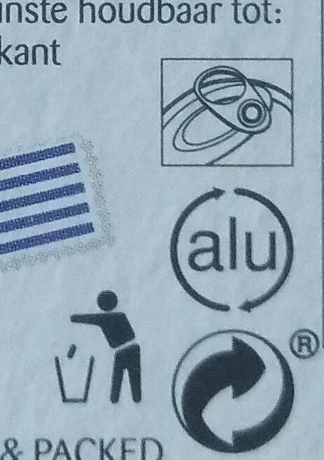 Anchois frais de la mer Egée à l'huile d'olive piquante - Instruction de recyclage et/ou information d'emballage - fr