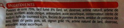 Rostis lutosa aux lardons - Ingrédients - fr