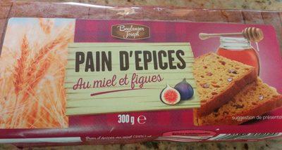 Pain d'Épice au Miel et Figues - Produit
