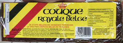 Couque royale belge - Product