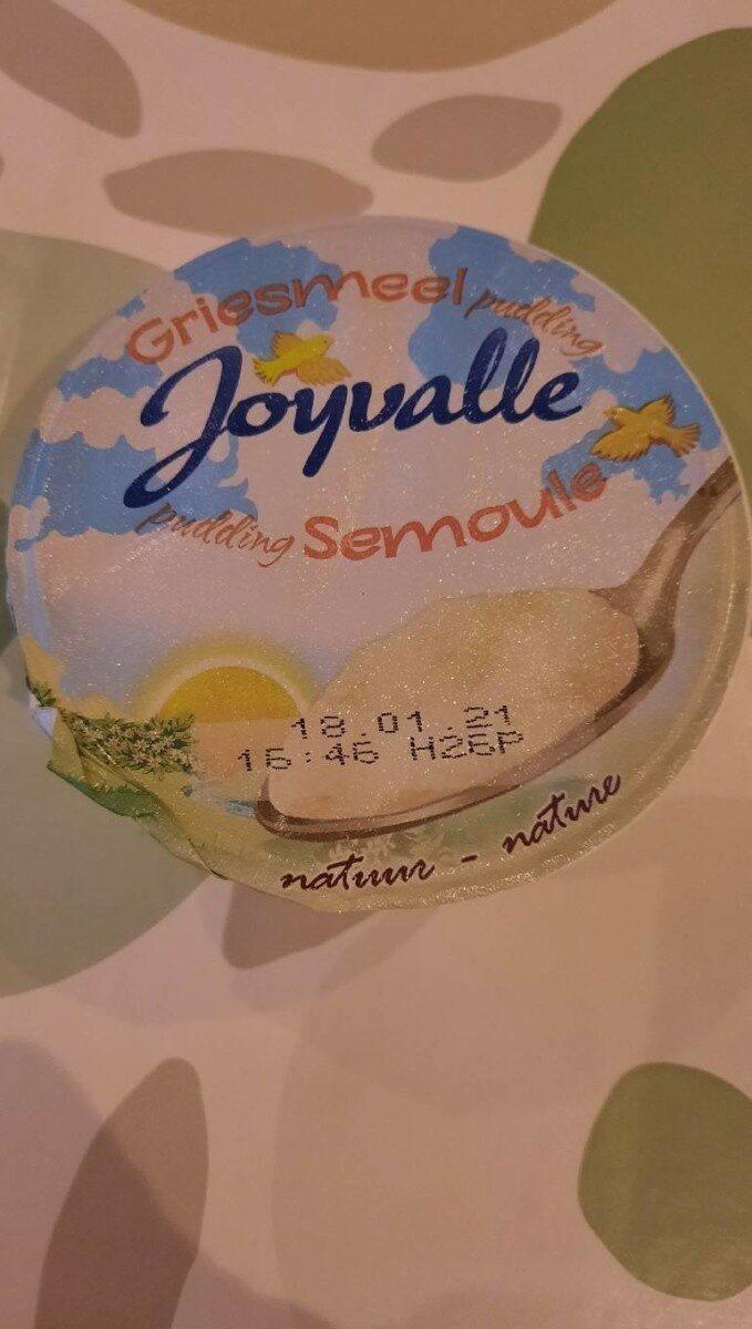Pudding semoule - Prodotto - fr