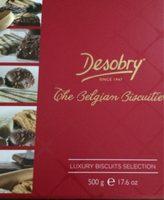 Desobry the belgian buiscuitier - Produit