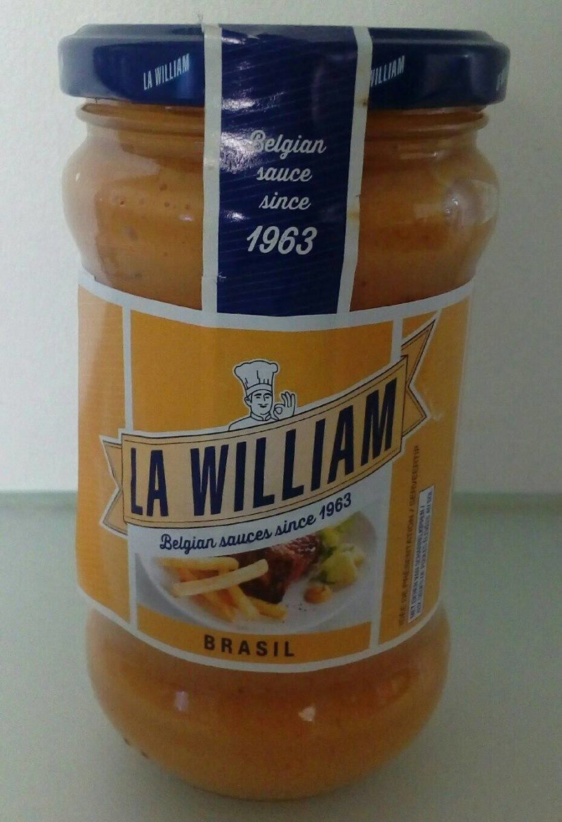 Sauce Brazil La William - Product - fr