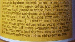 Sauce Brazil La William - Ingredients