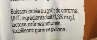 Melkdrank - Ingrédients - fr