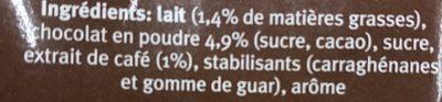Choco macchiato - Ingrediënten