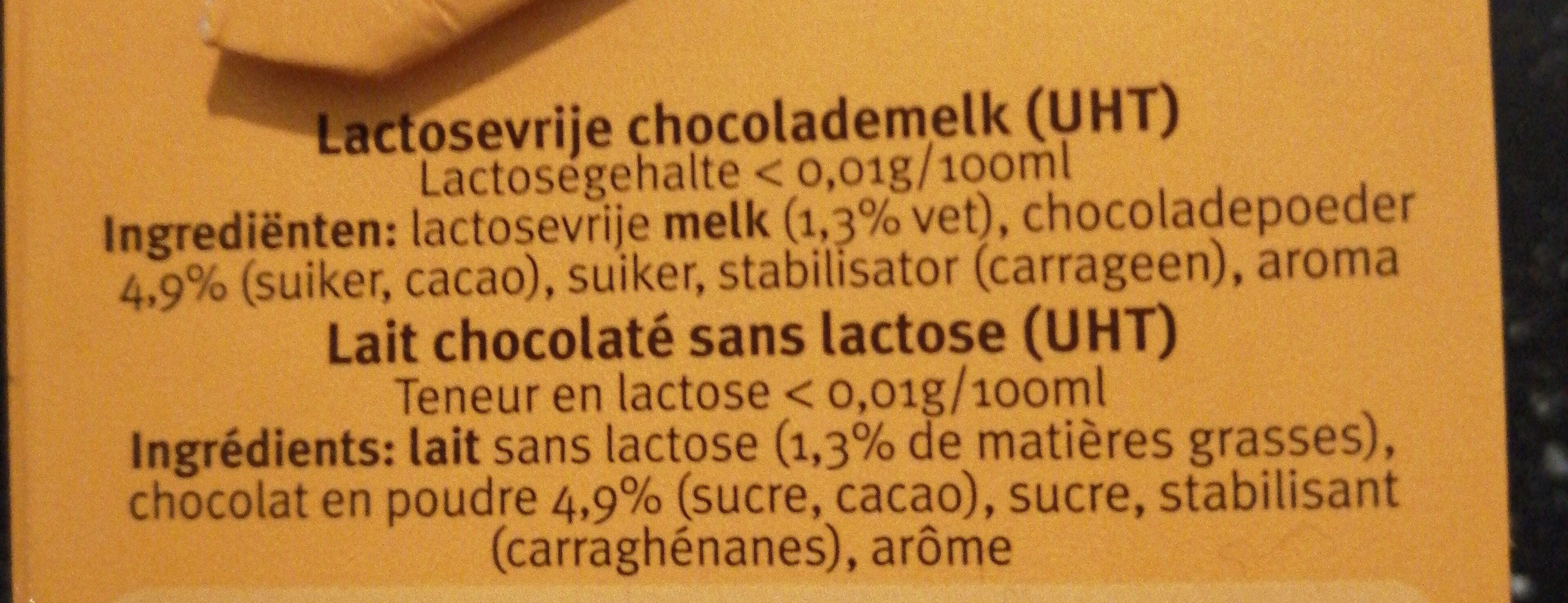 Cécémel Sans Lactose - Ingrédients - fr