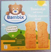 Biscuits nounours au miel - Product - fr