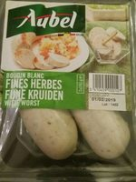 Boudin blanc fines herbes - Product - fr