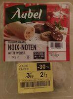 Boudin blanc noix - Product