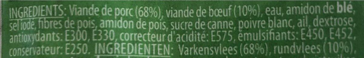 Saucisson polinais - Ingrediënten