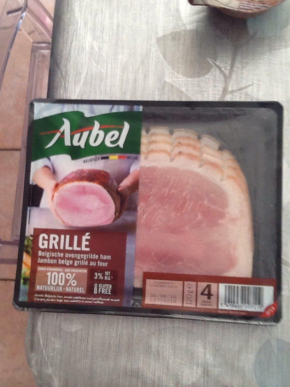 Jambon cuit grille - Produit - fr