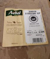 Jambon d'Ardenne IGP - Product