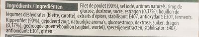 Poulet estragon - Ingredients