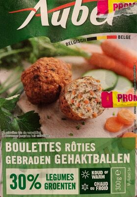 Boulettes roties 30% legumes - Product