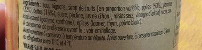 Sauce liegeoise - Ingrediënten - fr