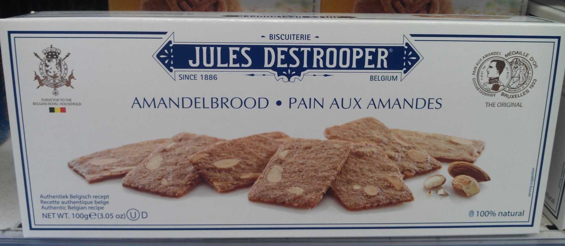 Pain aux amandes - Product - fr