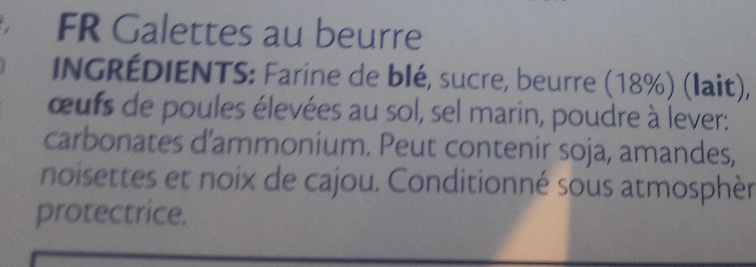 Gaufre - Ingrédients - fr