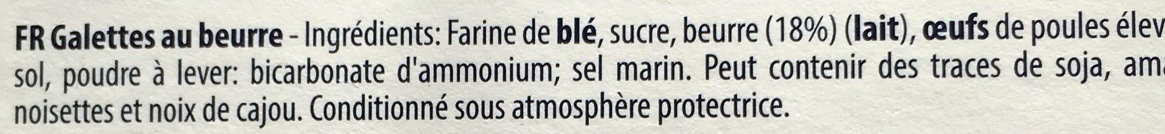 Jules Destrooper Almond Thins 75 Grams - Ingrediënten - fr