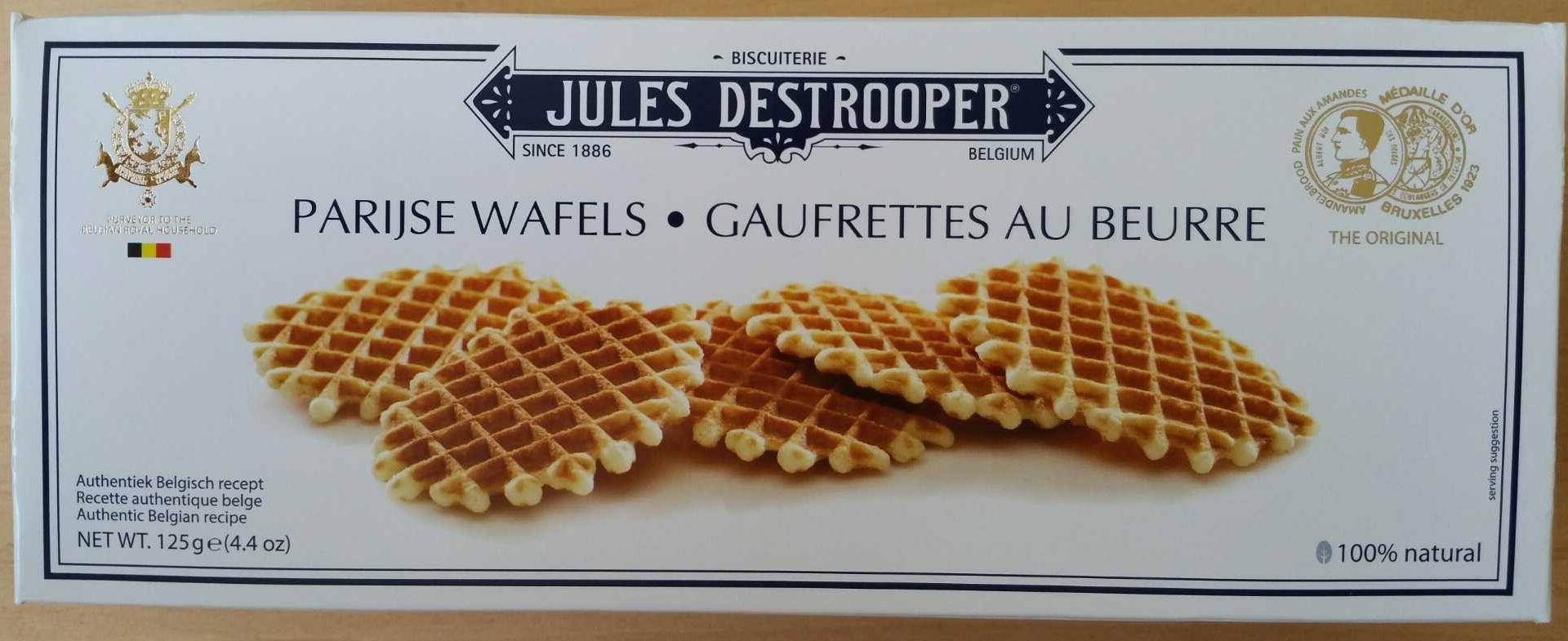 Gaufrettes au beurre - Produit - fr