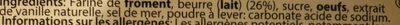 Gaufrettes au beurre - Ingrédients - fr