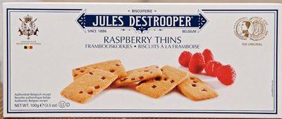 Biscuits à la framboise - Produit - fr