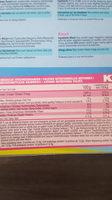 K3 KOEKEN - Voedingswaarden - fr