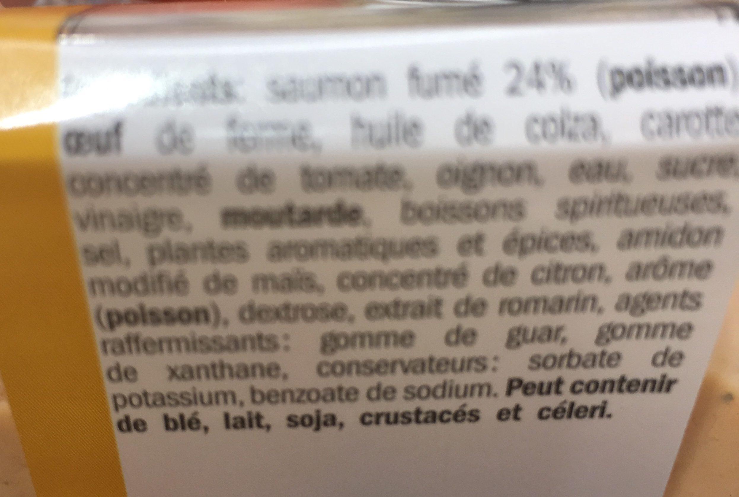 Salade De Saumon - Ingredients