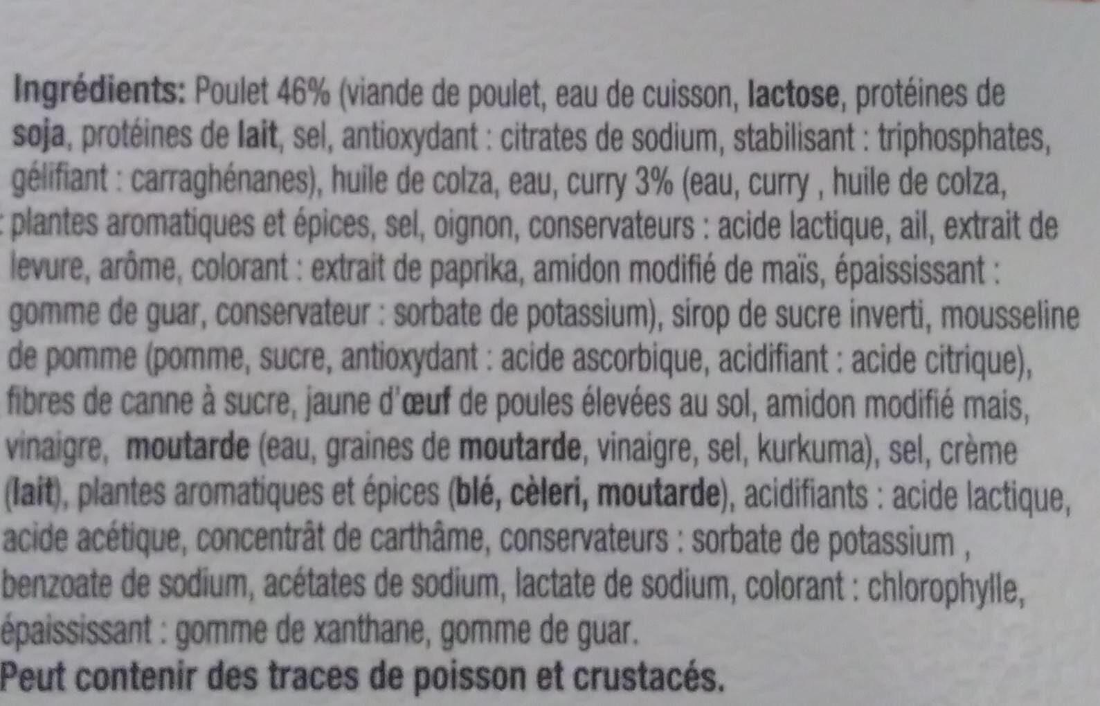 Kip Currysalade - Ingredients - fr