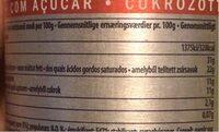 Crème Sucrée Sous Pression, 700 Millilitres, Marque Debic - Nutrition facts - fr