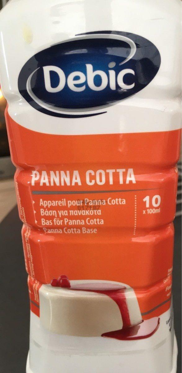 Panna cotta - Produit