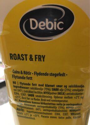 Roast et fry - Product