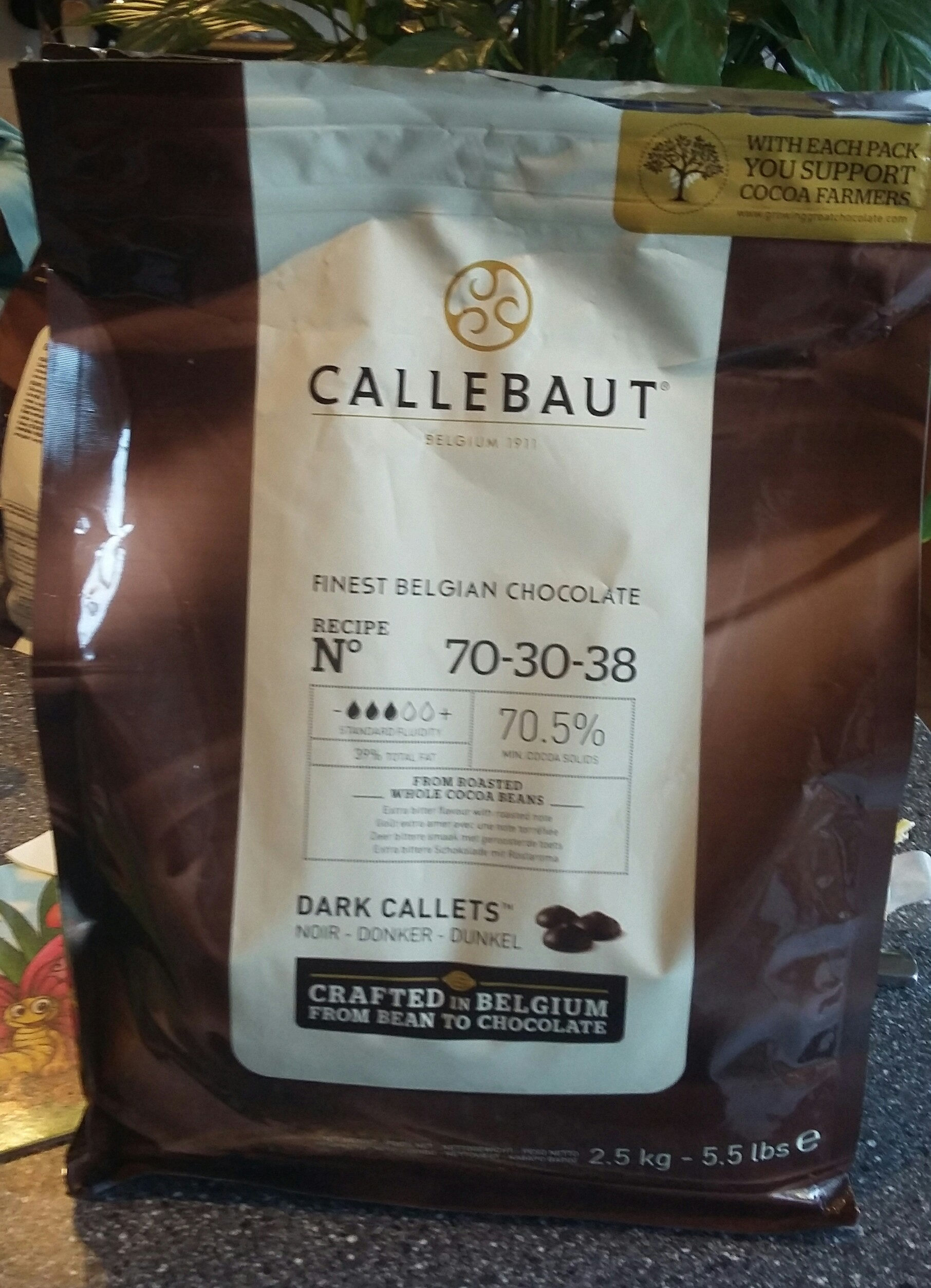 Chocolate 70,5% Dark Callets - Product - fr