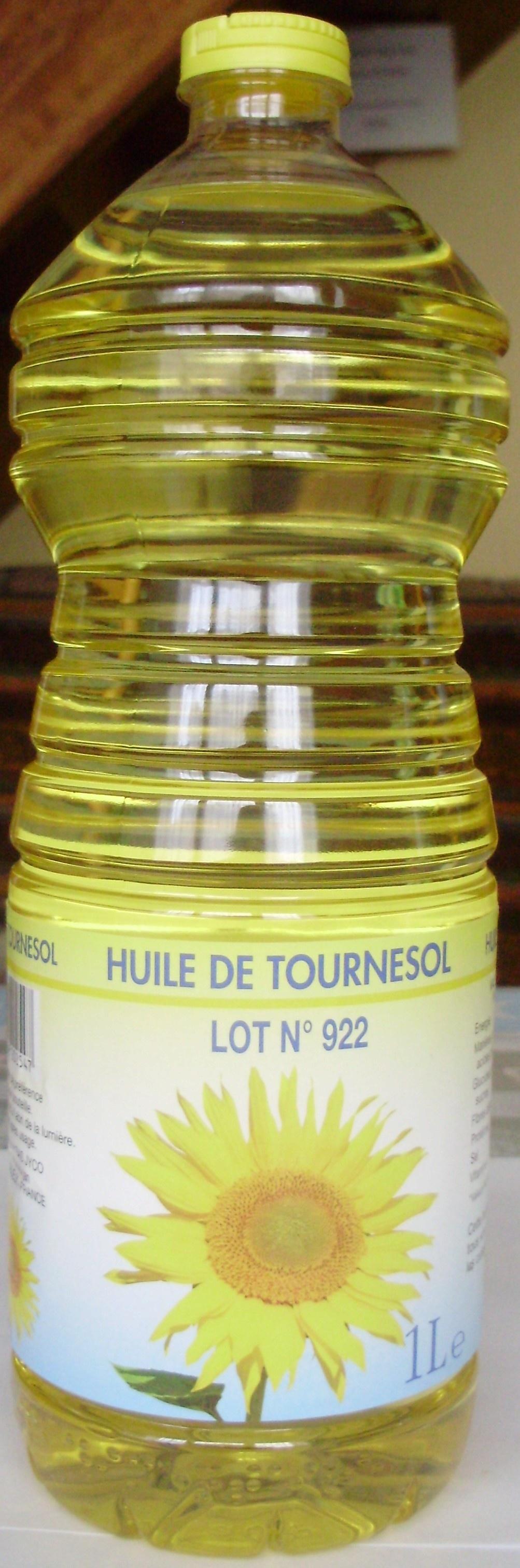 Huile de Tournesol - Produit - fr