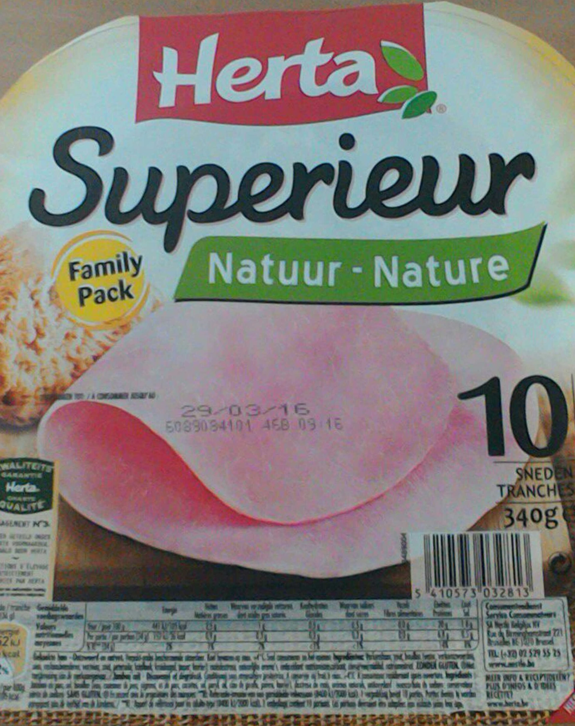 Superieur Nature (family pack) - Product - fr