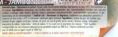 Superieur Nature (family pack) - Ingrédients - fr