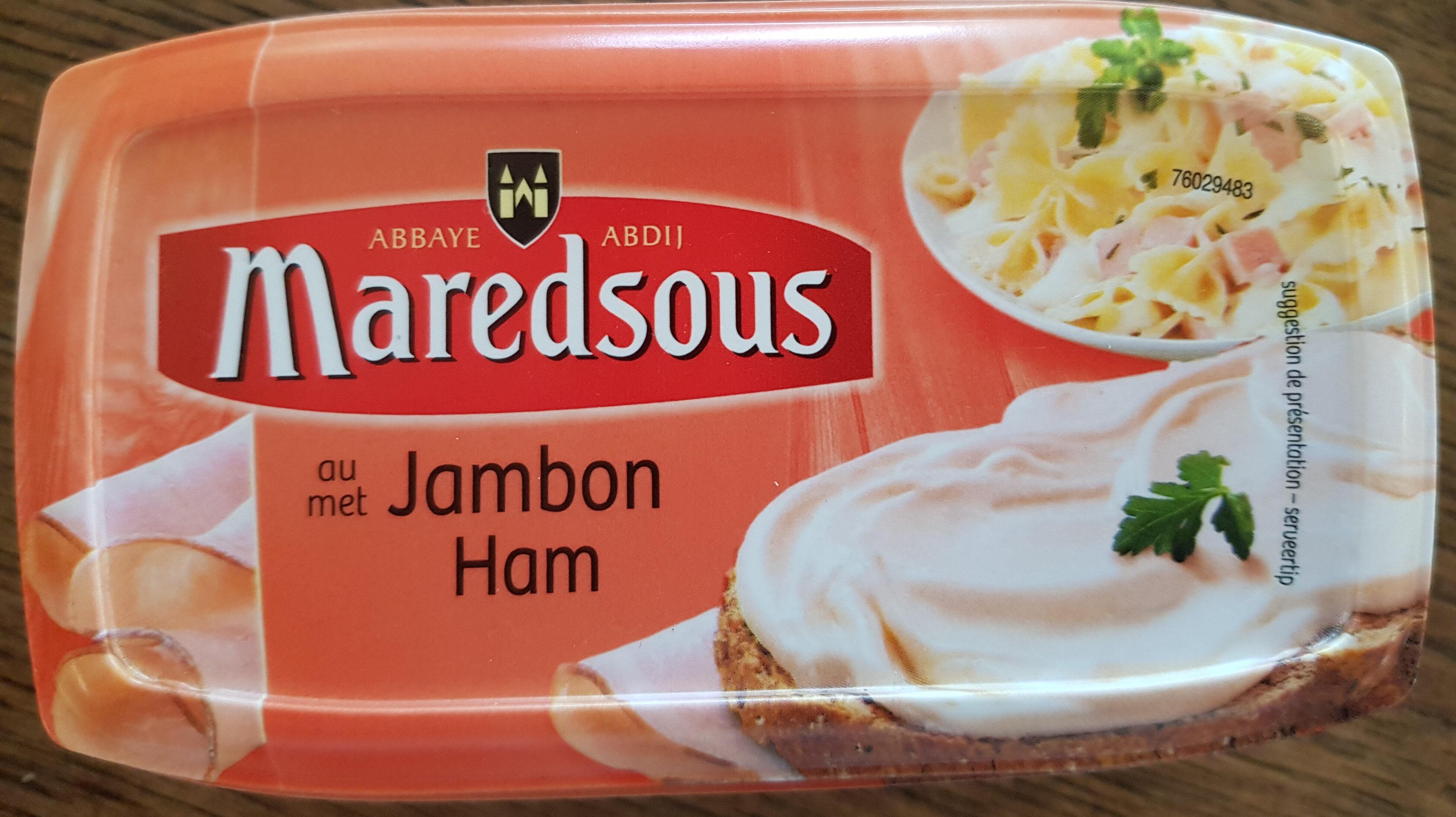 Fromage fondu au Jambon - Product - fr